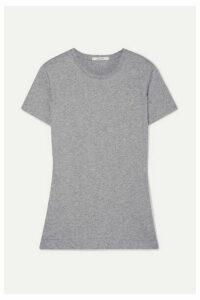 Adam Lippes - Pima Cotton-jersey T-shirt - Gray