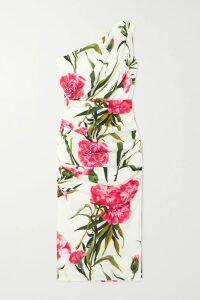 Balenciaga - Checked Wool And Silk-blend Wide-leg Pants - Gray