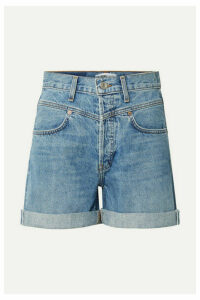 RE/DONE - 90s Denim Shorts - Mid denim