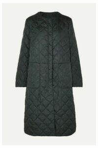 Max Mara - The Cube Quilted Shell Down Coat - Dark green