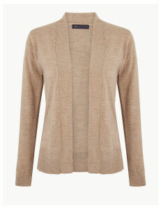M&S Collection Cashmilon Edge To Edge Cardigan