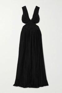 Altuzarra - Visage Pussy-bow Printed Silk Blouse - Blue