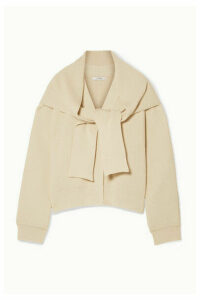 LE 17 SEPTEMBRE - Convertible Ribbed Cotton Cardigan - Cream