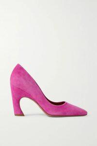 Missoni - Metallic Ribbed-knit Maxi Dress - Blue