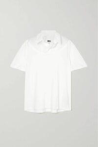 Loewe - Oversized Wool-jacquard Cardigan - Blue