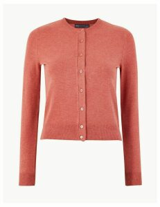 M&S Collection Crew Neck Cardigan