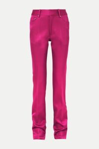 Peter Do - Satin Straight-leg Pants - Pink