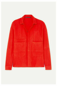 Haider Ackermann - Wool-felt Shirt - Red