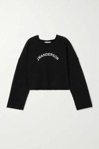 Theory - Herringbone Tweed Midi Skirt - Brown