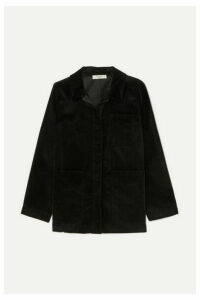 Atlantique Ascoli - Cotton-corduroy Jacket - Black