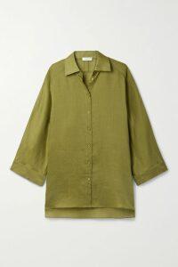 Wright Le Chapelain - Checked Wool Blazer - Midnight blue