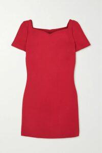 Alexander McQueen - Houndstooth Wool Wide-leg Pants - Black
