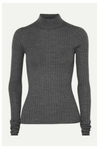Acne Studios - Kulia Ribbed Merino Wool Turtleneck Sweater - Gray