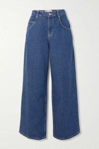 Missoni - Striped Metallic Crochet-knit T-shirt - Blush