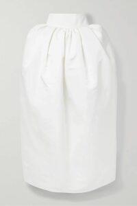 Victoria, Victoria Beckham - Belted Twill Mini Dress - Navy