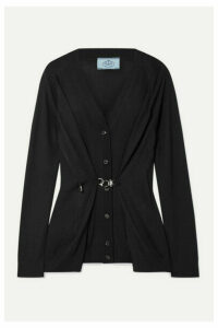 Prada - Wool Cardigan - Black