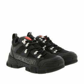 Love Moschino Sneakers - Logo Studded Sneaker Nero - black - Sneakers for ladies