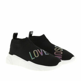 Love Moschino Sneakers - Running Stretch Sneaker Nero - black - Sneakers for ladies