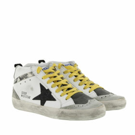 Golden Goose Sneakers - Mid Star Sneakers White/Snake Print - grey - Sneakers for ladies