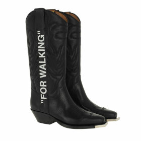 Off-White Boots & Booties - Cowboy Boots Black White - black - Boots & Booties for ladies