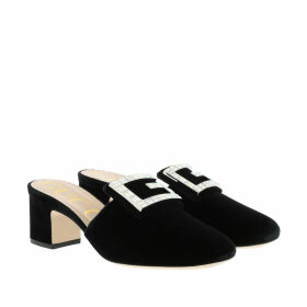 Gucci Loafers & Slippers - Crystal G Mules Black - black - Loafers & Slippers for ladies