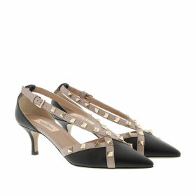 Valentino Pumps - Rockstud Pumps 55 Leather Black - black - Pumps for ladies