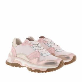Coach Sneakers - Runner Smooth Metallic Leather Rose Gold/Chalk - colorful - Sneakers for ladies