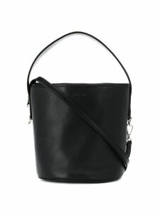 Jil Sander round bucket bag - Black