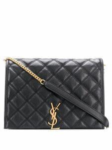 Saint Laurent large Becky chain shoulder bag - Black
