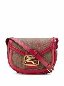 Etro paisley print cross body bag - Red