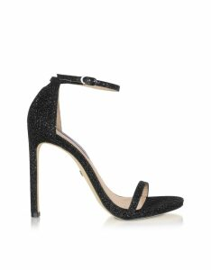 Stuart Weitzman Designer Shoes, Nudist Night Star High-Heel Sandals