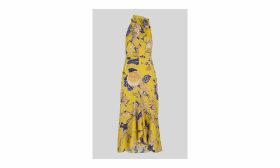 Peria Exotic Floral Dress
