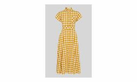 Ilana Check Shirt Dress