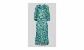 Alva Zinnia Floral Dress