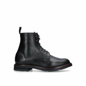 Church Wootton Lace Up Boot - Black Lace Up Casual Boots