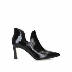 Vince Camuto Randin - Black Patent Stiletto Heel Ankle Boots