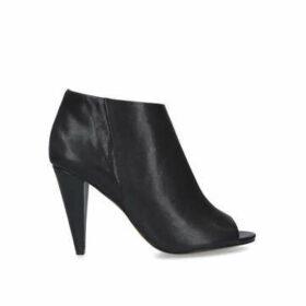 Vince Camuto Azalea - Black Peep Toe Ankle Boots