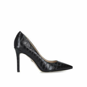 Sam Edelman Hazel Pump 90 - Black Stiletto Heel Court Shoes