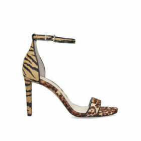 Vince Camuto Lauralie - Animal Print Stiletto Heel Strappy Sandals
