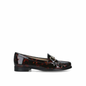 Carvela Comfort Click - Brown Loafer With Bar Detail