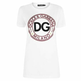 Dolce and Gabbana Circle Logo T Shirt