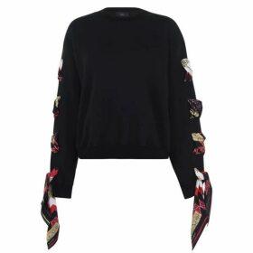 Alanui Silk Woven Sweater
