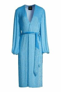 retrofete Audrey Robe Royal Blue - M Blue