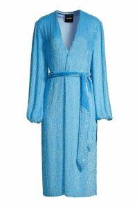 retrofete Audrey Robe Royal Blue - M Blue