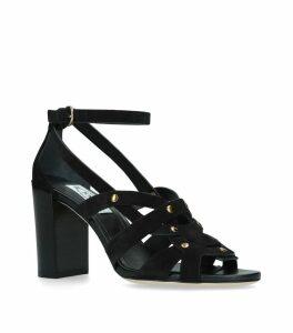 Suede Sandals 90