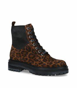 Leopard Print Martis Boots 20