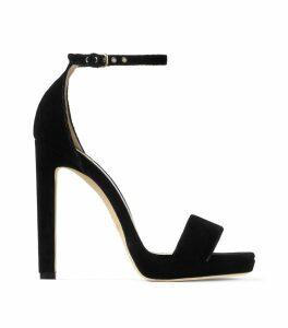 Misty 120 Velvet Sandals