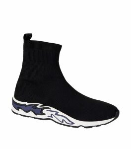 Flame Sole Sock Sneakers
