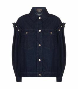 Brennon Frill Shoulder Denim Jacket