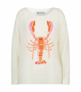 Knitted Lobster Sweatshirt